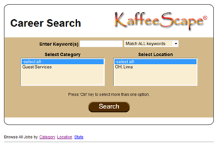 Search Engine Optimized (SEO) Career Site