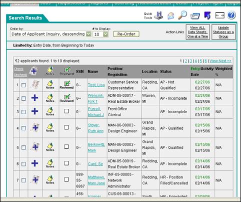 Applicant Tracking System Jennifer Brogee